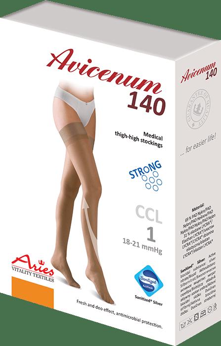 ARIES Pończochy przeciwżylakowe Avicenum 140 DEN STRONG
