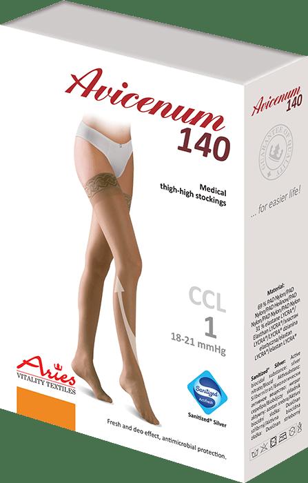 ARIES Pończochy przeciwżylakowe Avicenum 140 DEN