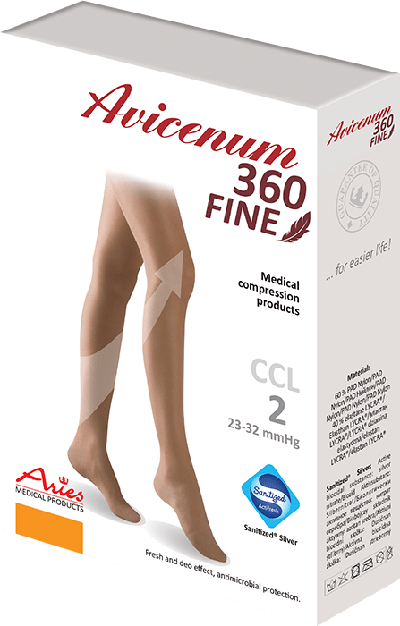 ARIES Pończochy przeciwżylakowe Avicenum 360 DEN FINE