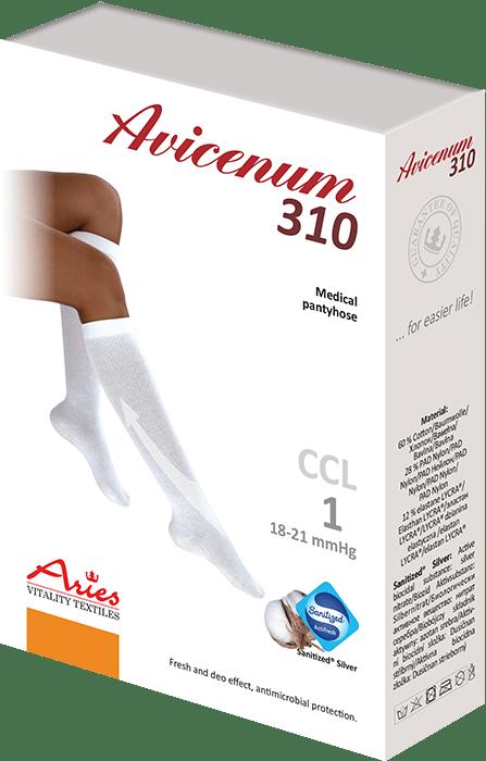 ARIES Podkolanówki przeciwżylakowe Avicenum 310 DEN