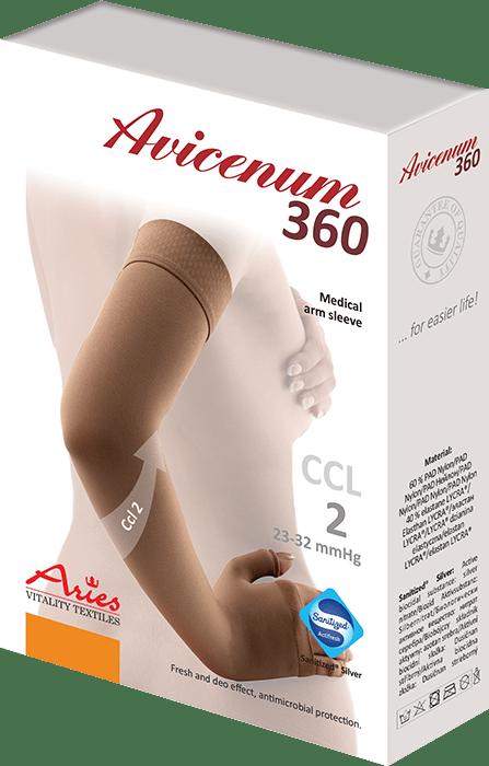 ARIES Rękaw kompresyjny Avicenum 360 DEN
