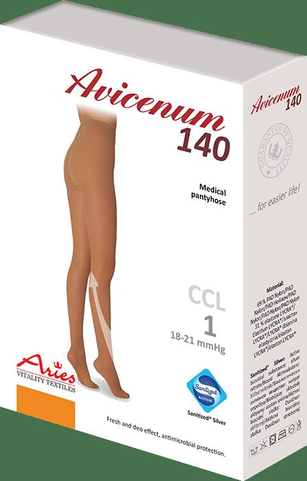 ARIES Rajstopy przeciwżylakowe Avicenum 140 DEN