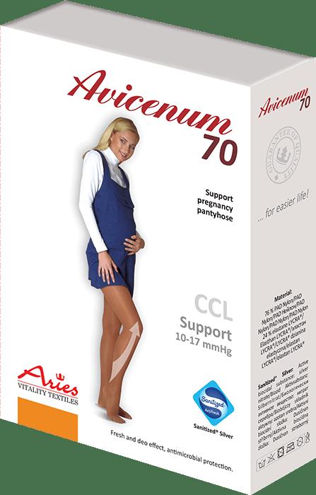 ARIES Rajstopy ciążowe profilaktyczne Avicenum 70 DEN