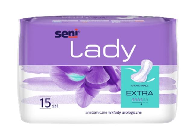 SENI Wkładki urologiczne dla kobiet Lady Extra