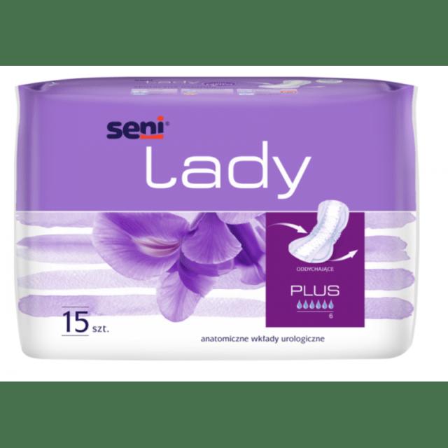 SENI Wkładki urologiczne dla kobiet Lady Plus