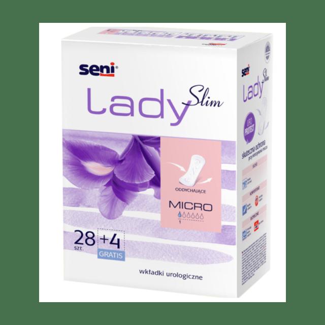 SENI Wkładki urologiczne dla kobiet Lady Slim Micro