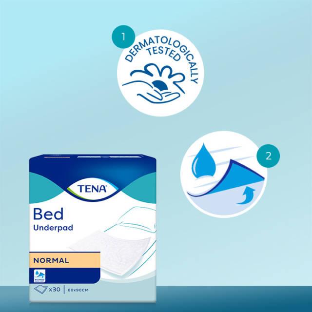 TENA Podkłady Bed Normal