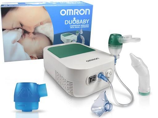 OMRON Nebulizator DUOBABY z aspiratorem do nosa NE-C301-E