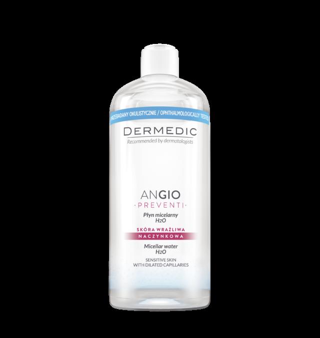 DERMEDIC ANGIO PREVENTI Płyn micelarny H2O 500 ml