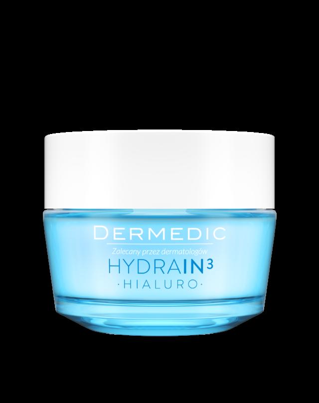 DERMEDIC HYDRAIN 3 HIALURO Krem-żel ultranawilżający 50 ml