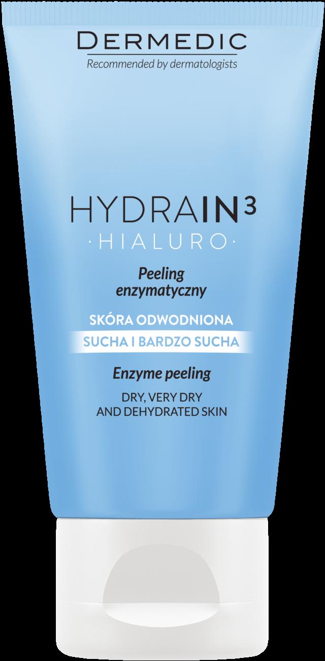 DERMEDIC HYDRAIN 3 HIALURO Peeling enzymatyczny 50 ml