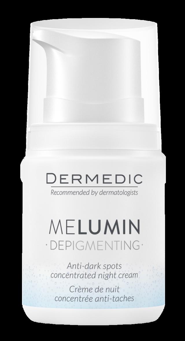 DERMEDIC MELUMIN Krem-koncentrat przeciw przebarwieniom na noc 55 ml