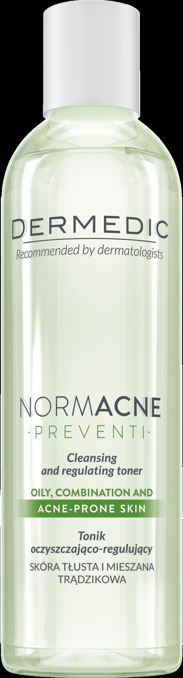 DERMEDIC NORMACNE Tonik oczyszczająco-regulujący 200 ml