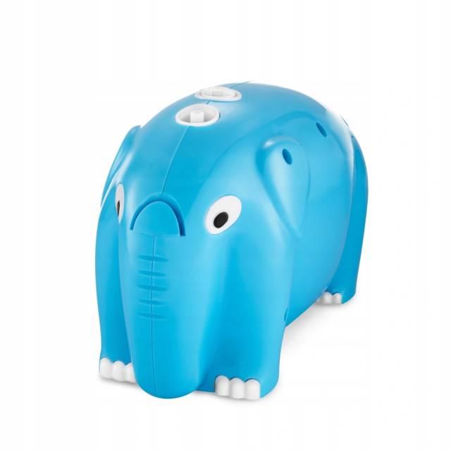 OROMED Inhalator pneumatyczny tłokowy w kształcie słonia- niebieski ORO-BABY NEB BLUE