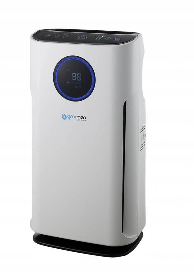 OROMED Oczyszczacz powietrza z filtrem HEPA i jonizatorem ORO-AIR PURIFIER PREMIUM + pilot