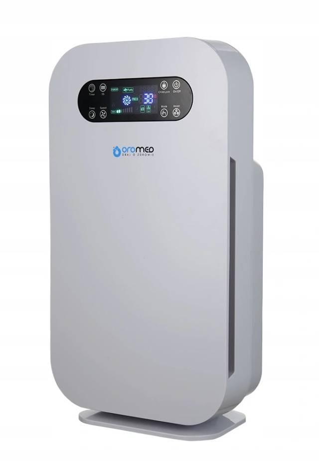 OROMED Oczyszczacz powietrza z filtrem HEPA i jonizatorem ORO-AIR PURIFIER BASIC + pilot