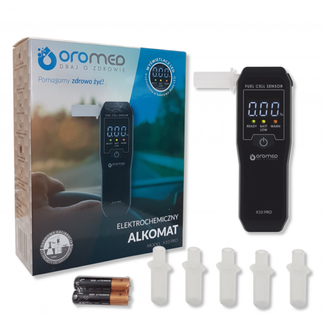OROMED Alkomat ORO-X10 PRO
