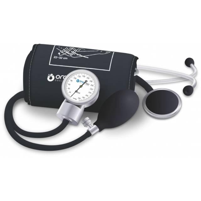 OROMED Ciśnieniomierz zegarowy ze stetoskopem ORO-Z/S