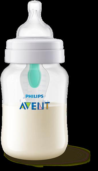 AVENT Butelka Anti-colic 260 ml z nakładką antykolkową AirFree™ SCF813/14