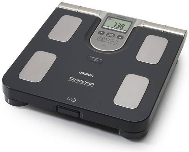 OMRON Waga elektroniczna z analizatorem składu ciała BF508