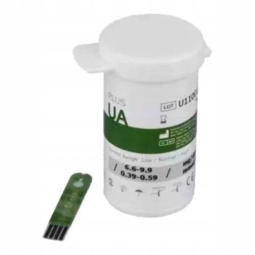 BENECHECK Paski testowe do pomiaru stężenia kwasu moczowego