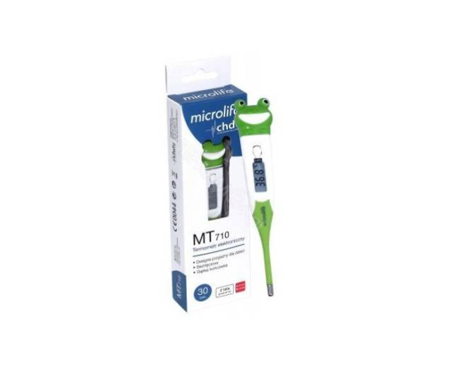 """MICROLIFE Termometr elektroniczny dla dzieci """"Żabka"""" MT710"""