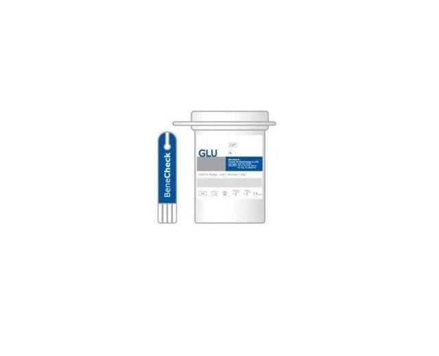 BENECHECK Paski testowe do pomiaru stężenia glukozy we krwi