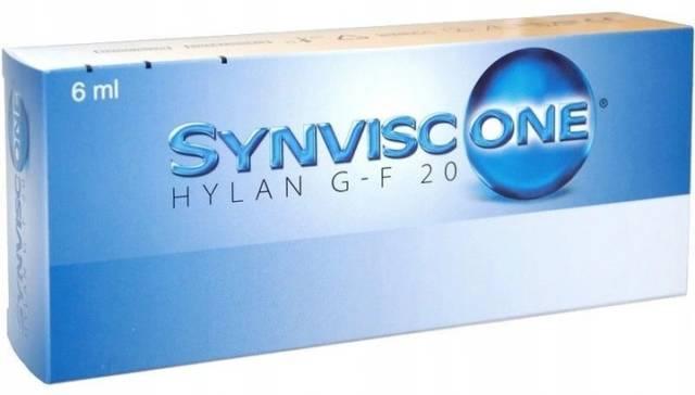 SYNVISC ONE Hylan G-F 20  1x ampułka 6ml