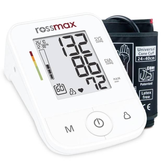 ROSSMAX Ciśnieniomierz automatyczny X3 z zasilaczem