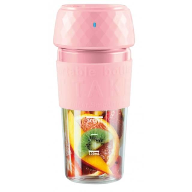 OROMED Blender do owoców i warzyw przenośny ORO-JUICER CUP USB RÓŻOWY