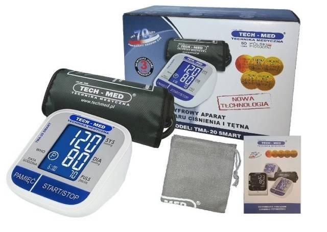 TECH-MED Ciśnieniomierz elektroniczny TMA-20 SMART