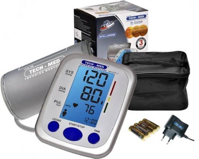 TECH-MED Ciśnieniomierz elektroniczny TMA-INTEL5 z zasilaczem