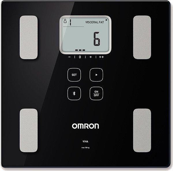 OMRON Waga elektroniczna z analizatorem składu ciała VIVA HBF-222T