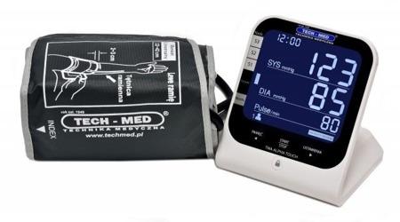 TECH-MED Ciśnieniomierz elektroniczny TMA-ALPHA TOUCH z zasilaczem