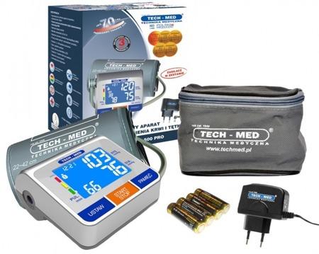 TECH-MED Ciśnieniomierz elektroniczny TMA-500 PRO z zasilaczem
