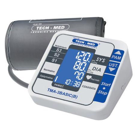 TECH-MED Ciśnieniomierz elektroniczny TMA-3BASIC(B)
