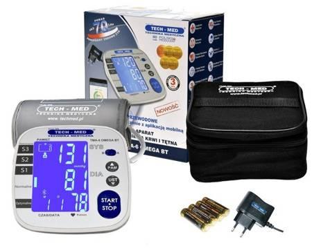 TECH-MED Ciśnieniomierz elektroniczny TMA-6 OMEGA z zasilaczem