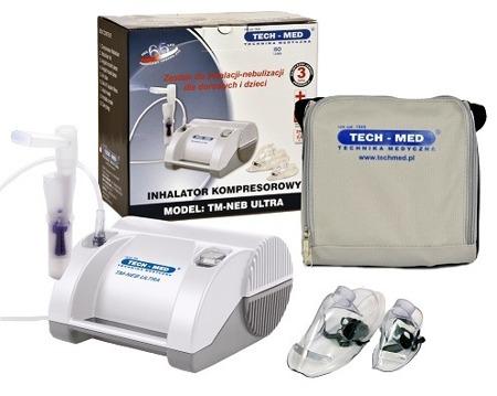 TECH-MED Inhalator penumatyczno- tłokowy TM-NEB ULTRA
