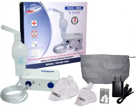 TECH-MED Inhalator kompresorowy TM-NEB MINI
