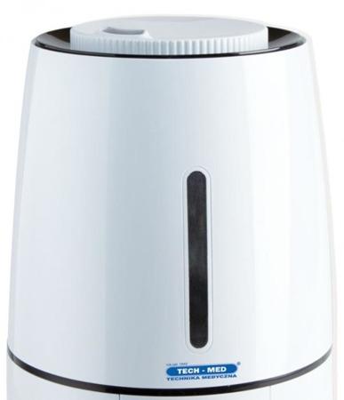 """TECH-MED Nawilżacz powietrza ultradźwiękowy z jonizatorem TM """"KROKUS"""""""
