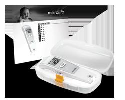 MICROLIFE Termometr bezdotykowy na podczerwień NC150