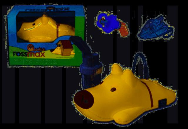 ROSSMAX Inhalator tłokowy dla dzieci z serii Qutie NI60