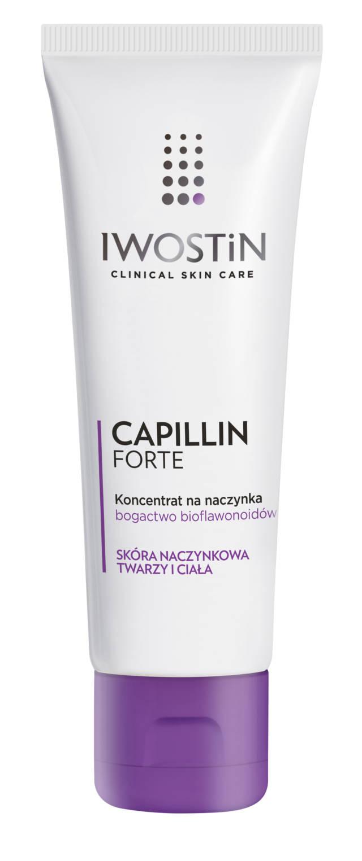 IWOSTIN CAPILLIN FORTE Koncentrat na naczynka do ciała i twarzy 75ml