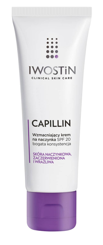 IWOSTIN CAPILLIN Wzmacniający krem na naczynka o bogatej konsystencji SPF20 40ml
