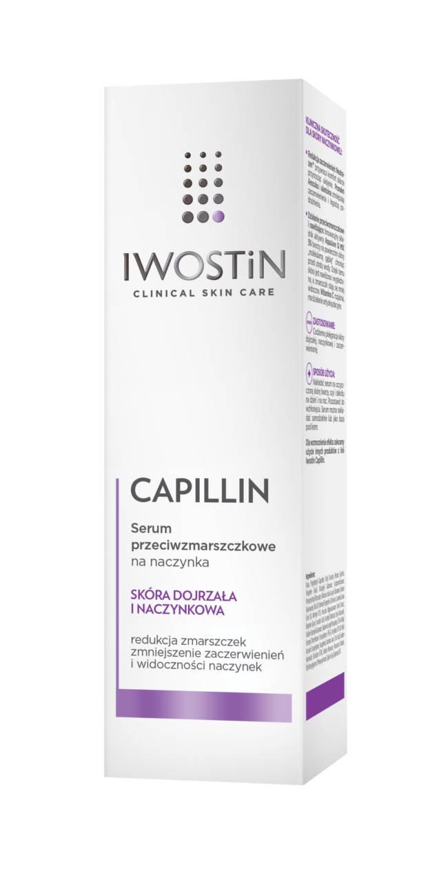 IWOSTIN CAPILLIN Serum przeciwzmarszczkowe na naczynka 40ml