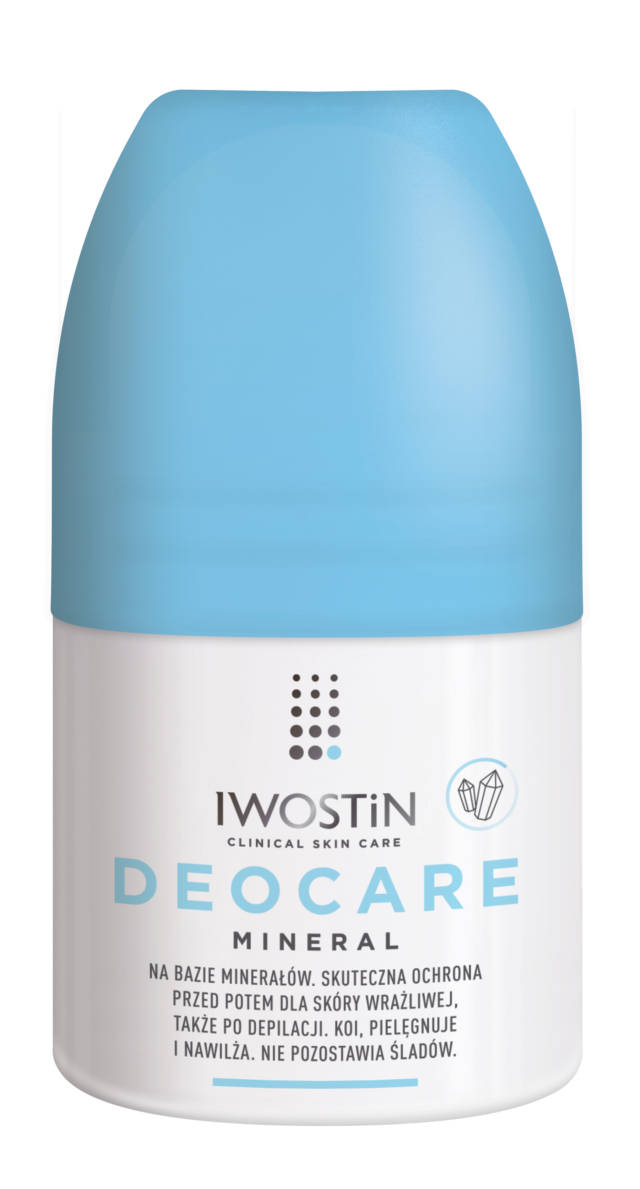 IWOSTIN DEOCARE Antyperspirant w kulce Mineral 50ml