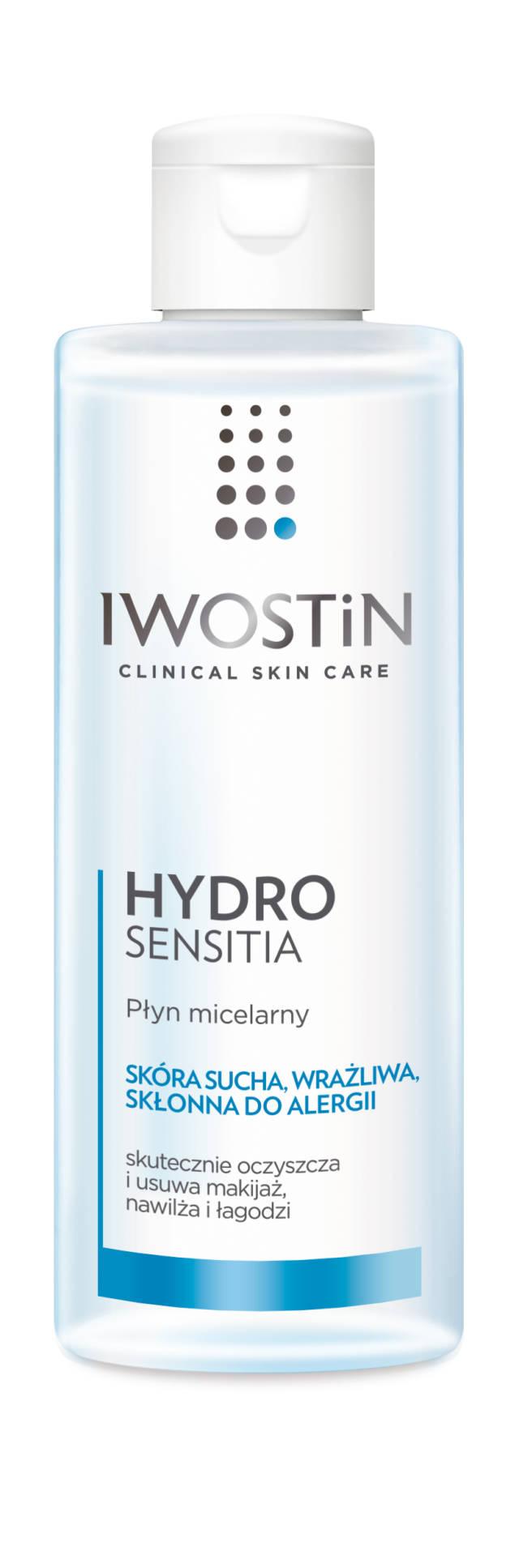 IWOSTIN HYDRO SENSITIA Płyn micelarny 215ml