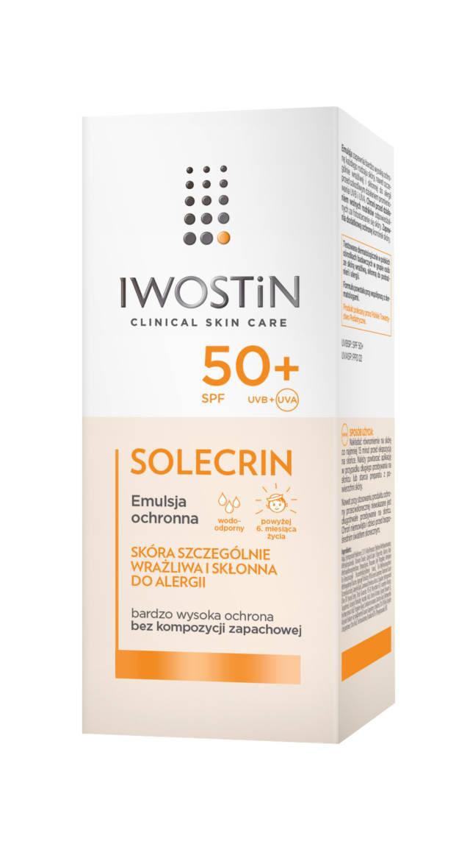 IWOSTIN SOLECRIN Emulsja ochronna SPF50+ 100ml