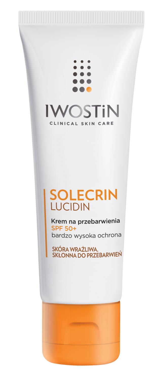 IWOSTIN SOLECRIN LUCIDIN Krem na przebarwienia SPF50+ 50ml