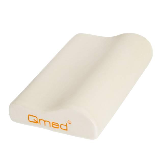 QMED Poduszka profilowana do snu Standard Pillow + Opaska na oczy